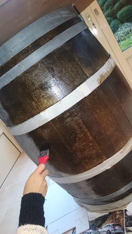 Wijnton donkerbruin wijnbar