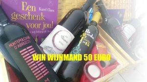 wedstrijd win wijnmand