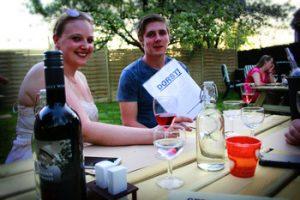 Dorst in de zomertuin van Wijnbar Wetteren Paella Restaurant Le Gout Soiree